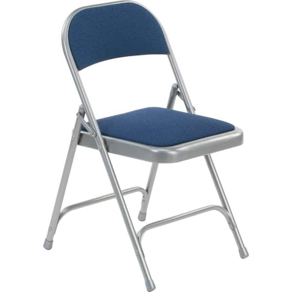 Virco 188 Fabric Padded Metal Folding Chair