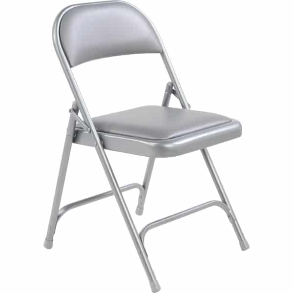 Virco 168 Vinyl Padded Metal Folding Chair The Furniture