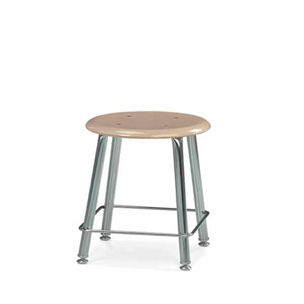 12118 Virco 18 Inch Hard Plastic Classroom Stool The Furniture Family